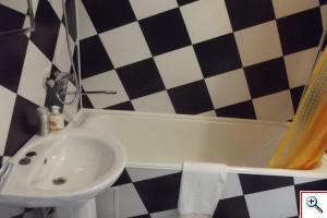 Ванная комната в номерах гостиницы Тольятти